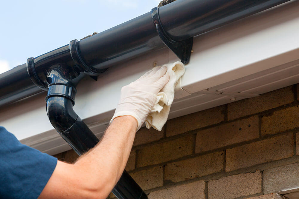 Fascia, soffit and gutter cleaning in Sligo